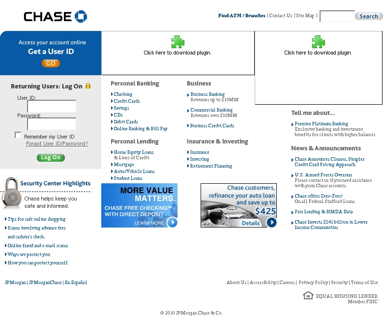 Chase Online - Logon - Web - Frompo